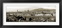 Framed Panoramic View of Florence