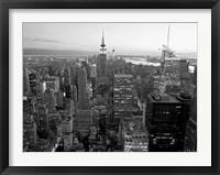 Framed Skyline of Midtown Manhattan, NYC
