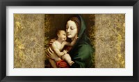 Framed Holy Virgin (Italian school)