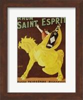 Framed Rhum Saint Esprit, 1919