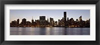 Framed Midtown Manhattan Skyline, NYC 2