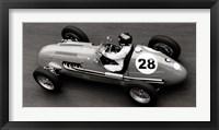 Framed Historical Race Car at Grand Prix de Monaco 1