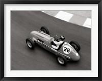 Framed Historical Race Car at Grand Prix de Monaco 3