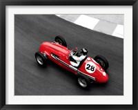 Framed Historical Race Car at Grand Prix de Monaco 4