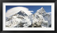 Framed Mount Everest (detail)