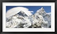Framed Mount Everest (detail)