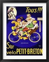 Framed Petit Breton