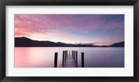 Framed Twilight on Lake, UK