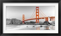 Framed Golden Gate Bridge, San Francisco