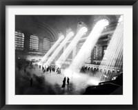 Framed Grand Central Station, New York
