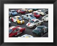 Framed Vintage sport cars at Grand Prix, Nurburgring