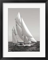 Framed Classic sailboat