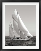 Framed Classic sailboat