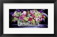 Framed Roses and Lilacs