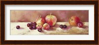 Framed Cherries and Apples