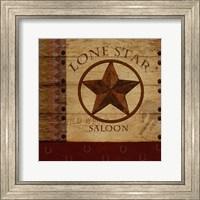 Framed Lone Star