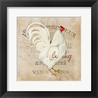 Framed French Rooster