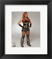 Framed Becky Lynch 2016 Posed