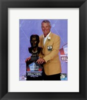 Framed Brett Favre 2016 NFL Hall of Fame Induction Ceremony