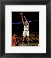 Framed Klay Thompson 2016 NBA Playoff Action