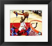 Framed LeBron James 2016 NBA Playoff Action