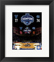 Framed Villanova Wildcats 2016 NCAA Men's College Basketball National Champions Composite