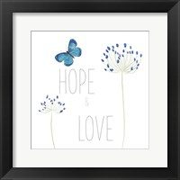 Framed Hope and Love