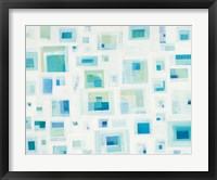 Harbor Windows V Framed Print