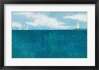 Framed Lighthouse Sail