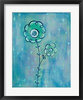 Framed Magical Flowers II