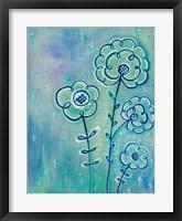 Magical Flowers III Framed Print