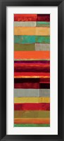 Fields of Color II Framed Print