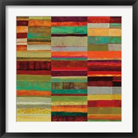Fields of Color IX Framed Print