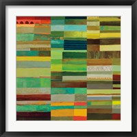 Fields of Color X Framed Print