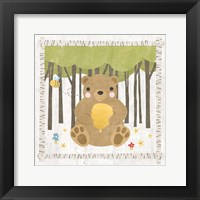 Framed Woodland Hideaway Bear
