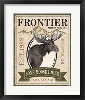 Frontier Brewing II Framed Print