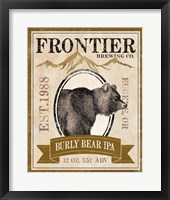 Framed Frontier Brewing IV