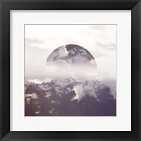 Reflected Landscape IV Framed Print