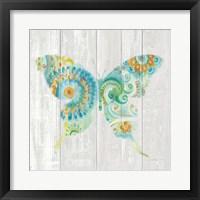 Spring Dream Paisley IX Framed Print