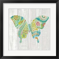 Spring Dream Paisley VIII Framed Print