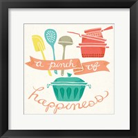A Pinch of Happiness Framed Print