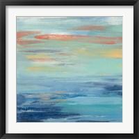 Sunset Beach I Framed Print