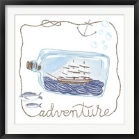 Framed Ship in a Bottle Adventure