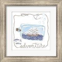 Framed Ship in a Bottle Adventure