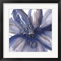 Framed Blue Beauty I