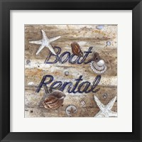 Framed Boat Rental