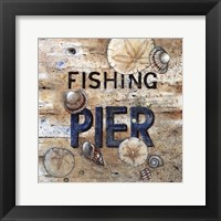 Framed Fishing Pier