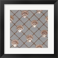 Framed Scallop Shell Net