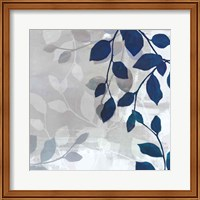 Framed Leaves in the Mist I