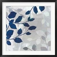 Framed Leaves in the Mist II